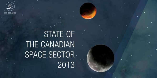 State of the Canadian Space Sector 2013