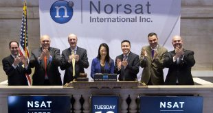 Norsat listed on the TSX, also gets listed on the New York Stock Exchange.