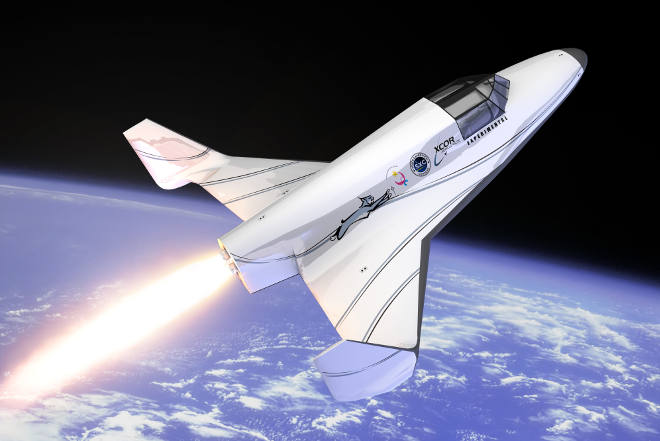 XCOR Lynx spacecraft