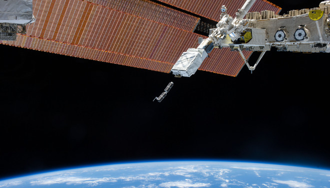 CubeSat deployment from the ISS