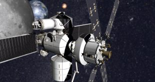 Concept of Lockheed Martin's NextSTEP-2 habitat with Orion