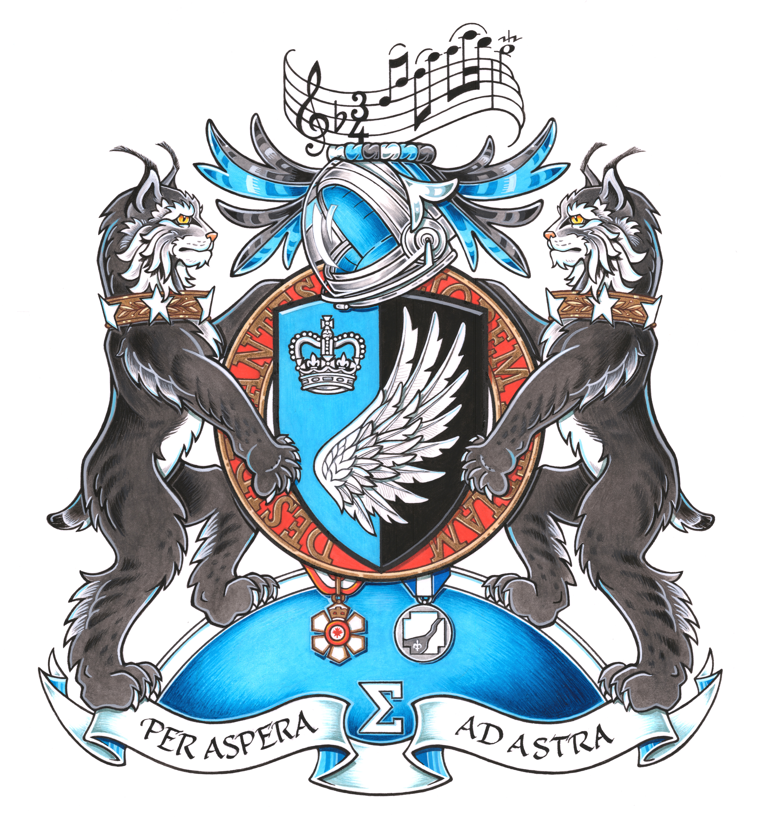 Coat of Arms for Governor General Julie Payette