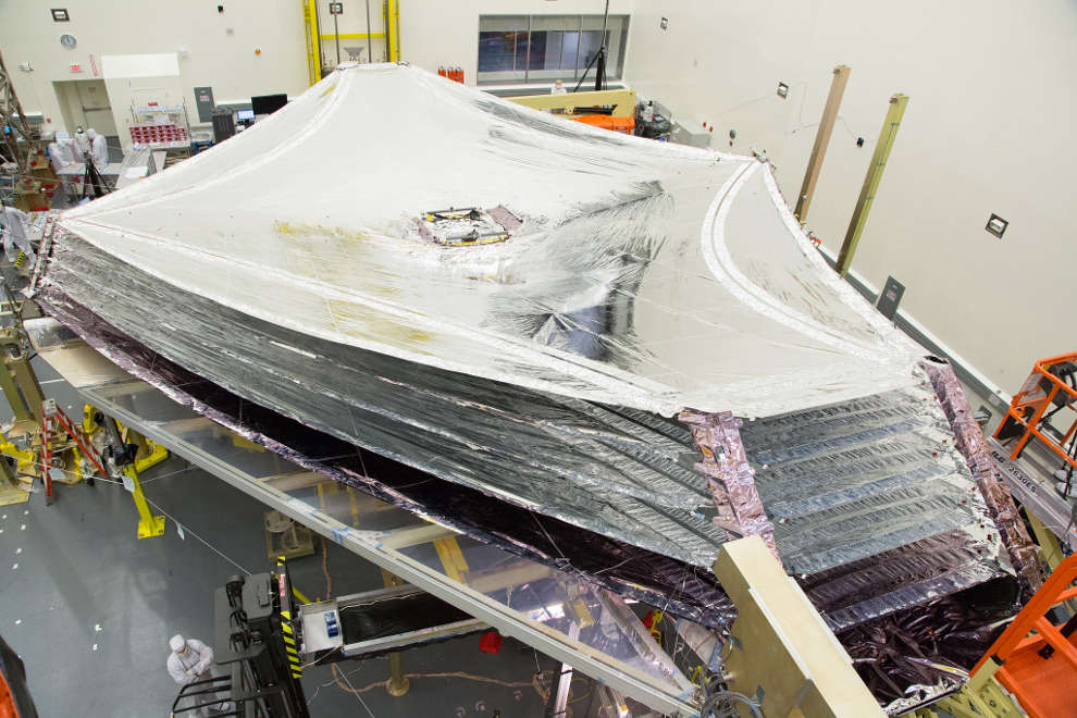 James Webb Space Telescope Sunshield