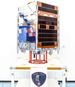 Telesat LEO-1 satellite.