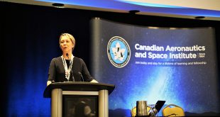 Dr. Lucy Stojak lecture at CASI ASTRO 18