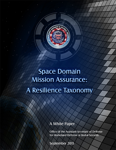 Space Domain Mission Assurance: A Resilience Taxonomy