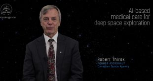Former Canadian Space Agency astronaut Dr. Robert Thirsk shares his thoughts on AI-based medical care