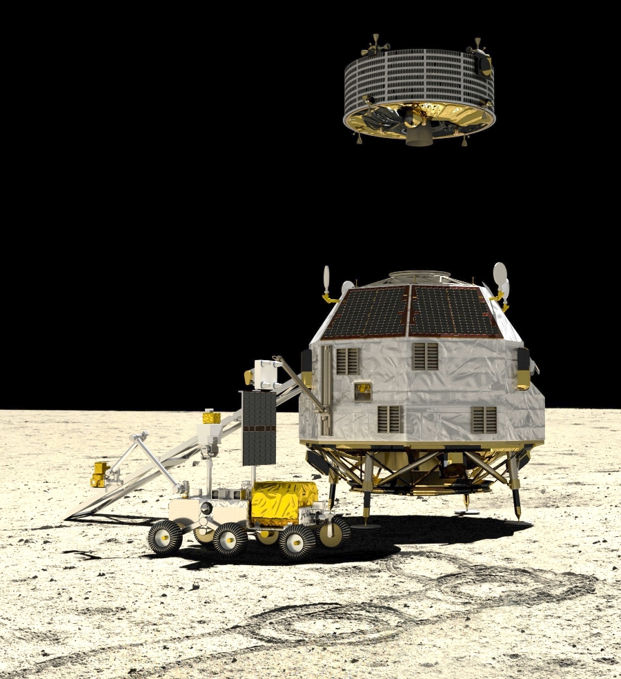 ESA is working with the Canadian and Japanese space agencies to prepare the Heracles robotic mission to the Moon in the mid-to-late-2020s. Using the Gateway as a halfway point, a robotic rover will scout the terrain in preparation for the future arrival of astronauts, and deliver lunar samples to Earth