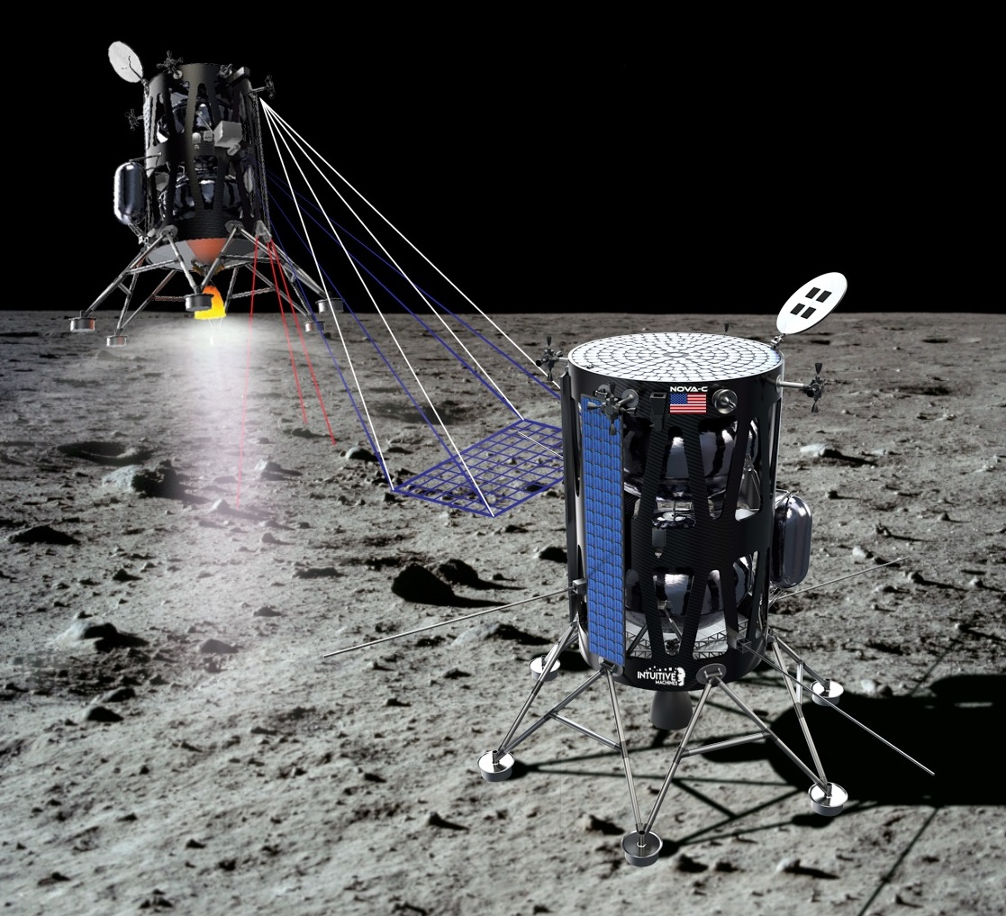 Intuitive Machines moon lander