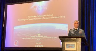 BGen Kevin Whale at CASI ASTRO 2019