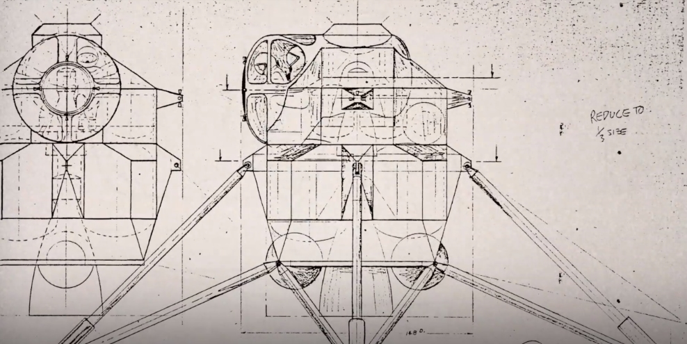 Apollo program lunar module concept design