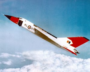 RCAF Avro Arrow. Credit: Royal Canadian Air Force.